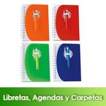 Libretas, Agendas y Carpetas